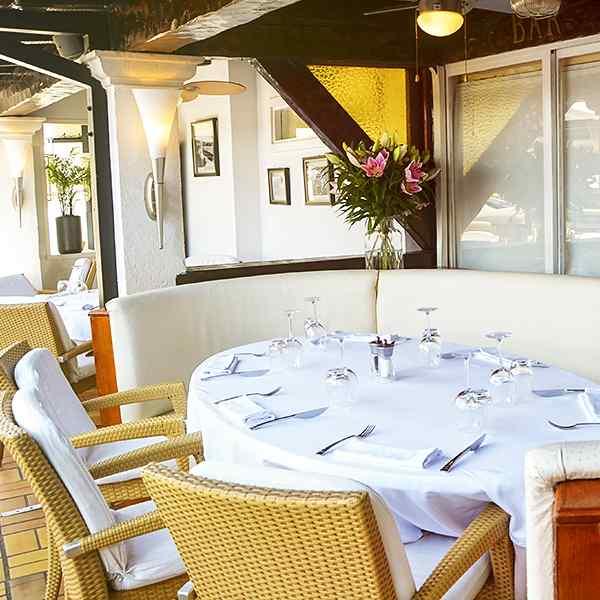 Restaurant l'Hermitage à Sainte Maxime